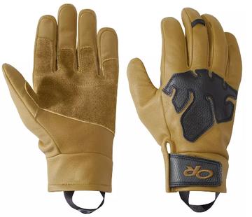 Outdoor Research Splitter Work Gloves Natural/Black