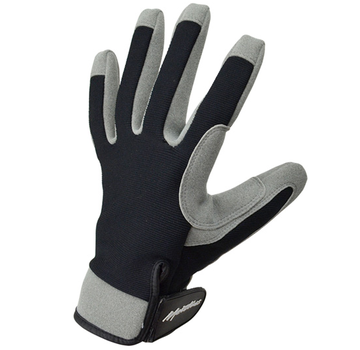 Metolius Belay Gloves Gray/Black