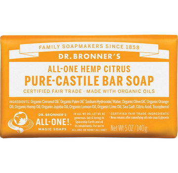 Dr. Bronner's Citrus Bar Soap