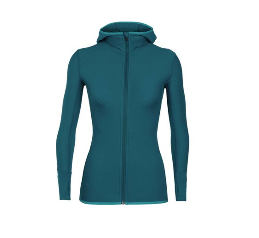 Women's Descender Long Sleeve Zip Hood