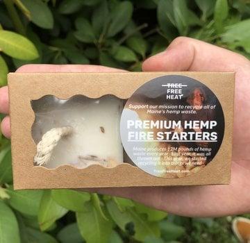 Tree Free Heat Premium Hemp Firestarters