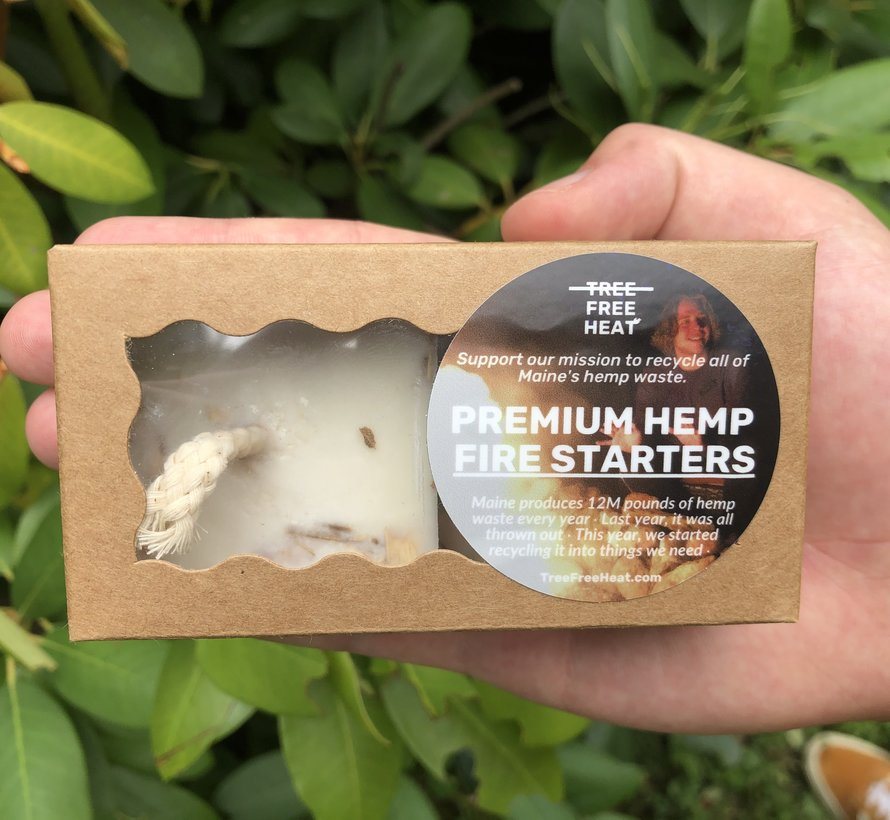 Premium Hemp Firestarters