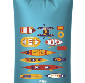 Outdoor Research Graphic Dry Sacks-PADDLE PARTY TYPHOON