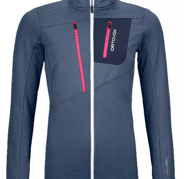 Ortovox Women's Fleece Grid Jacket