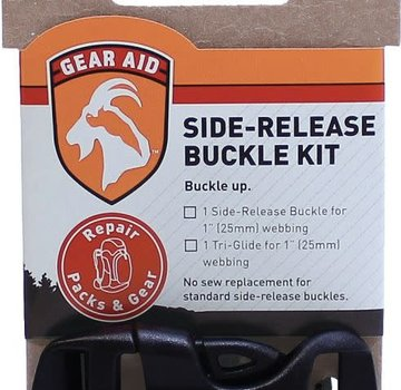 "Gear Aid Dual Adjust Buckle 1"" Side Release"