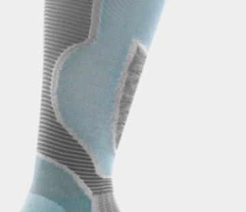 Darn Tough Women's Outer Limits Over-The-Calf Padded Light Cushion Ski Socks