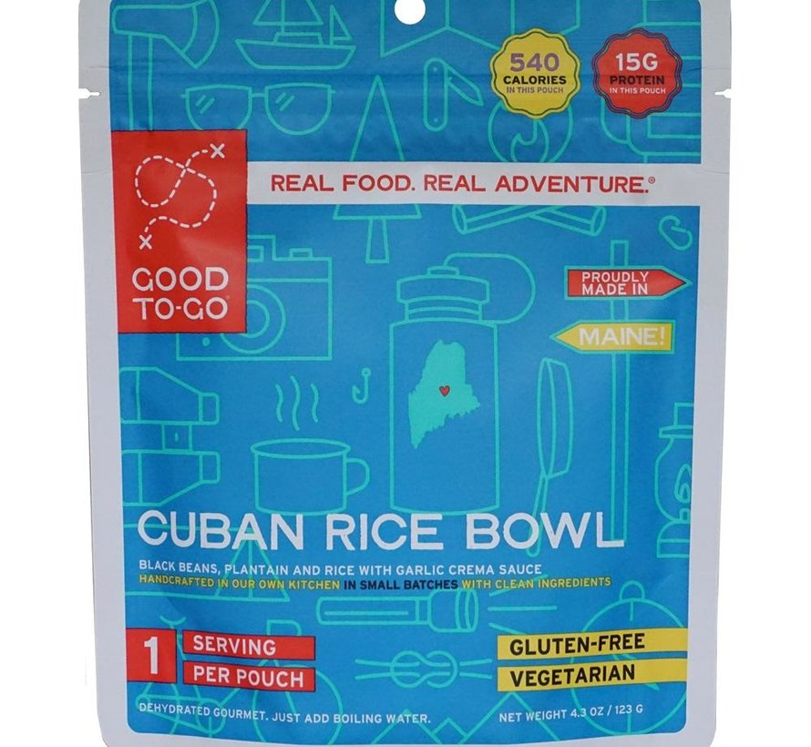 Cuban Rice Bowl Dehydrated Meal