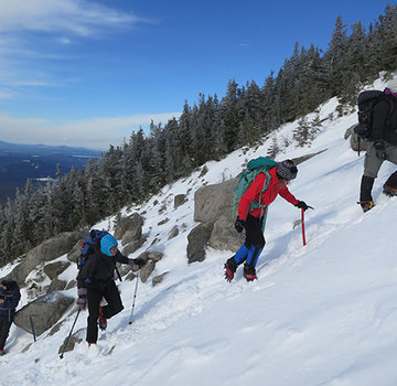 Acadia Mountain Guides Katahdin Winter Ascent