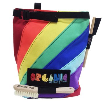 Organic Climbing Rainbow Edition Lunch Bag Chalk Bucket