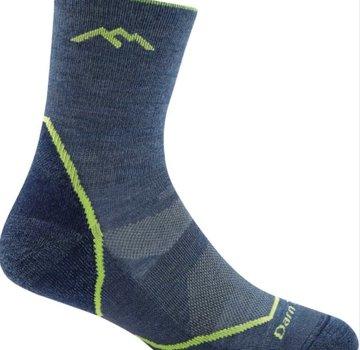 Darn Tough Boy's Light Hiker Jr Micro Crew Lightweight with Cushion Socks