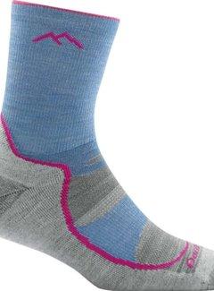 Darn Tough Girl's Light Hiker Jr Micro Crew Lightweight with Cushion Socks