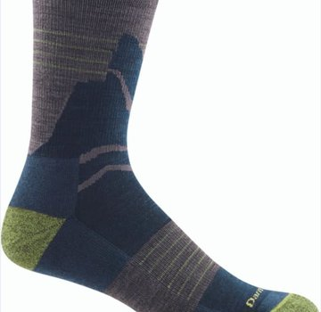 Darn Tough Men's Pinnacle Micro Crew Lightweight with Cushion Socks