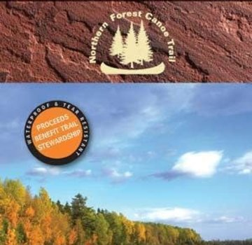 Mountaineers Books Northern Forest Canoe Trail Map 12: Allagash Region Southern Maine