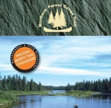 Mountaineers Books Northern Forest Canoe Trail Map 13: Allagash Region Northern Maine