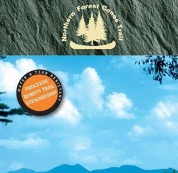 Mountaineers Books Northern Forest Canoe Trail Map 9: Flagstaff Lake Region Maine