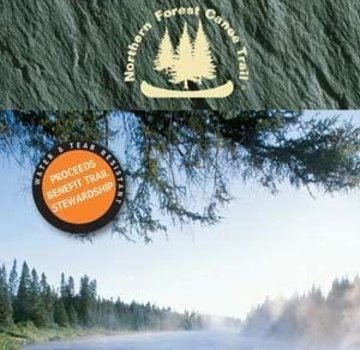 Mountaineers Books Northern Forest Canoe Trails Map 11: