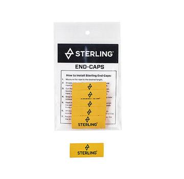 Sterling Rope End Labels (Bag of 6)
