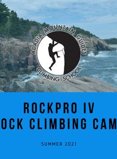Acadia Mountain Guides RockPro IV Rock Climbing Camp