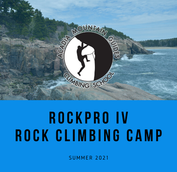 Acadia Mountain Guides RockPro IV Rock Climbing Camp