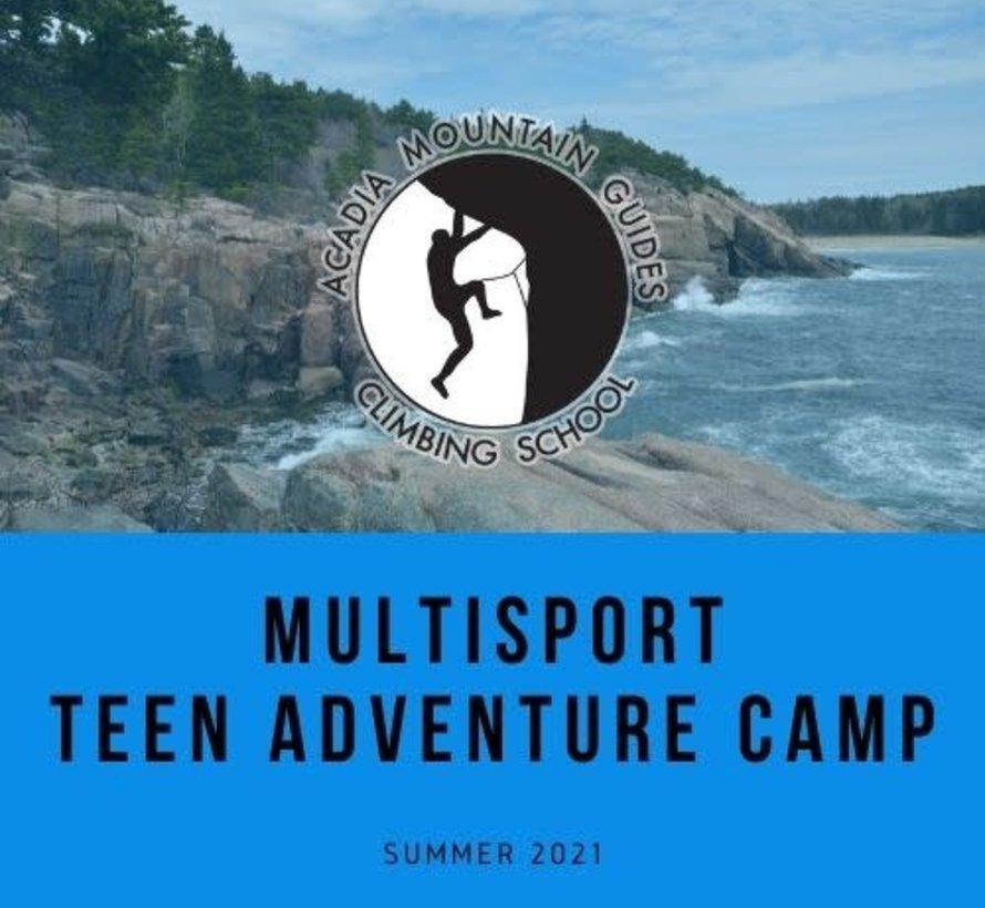 Camp- Multisport Teen Adventure Camp