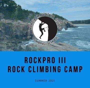 Acadia Mountain Guides RockPro III Rock Climbing Camp