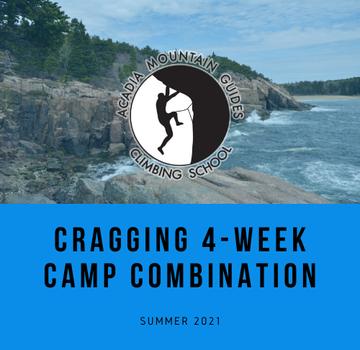 Acadia Mountain Guides Camp- Cragging Summer Camp Combination