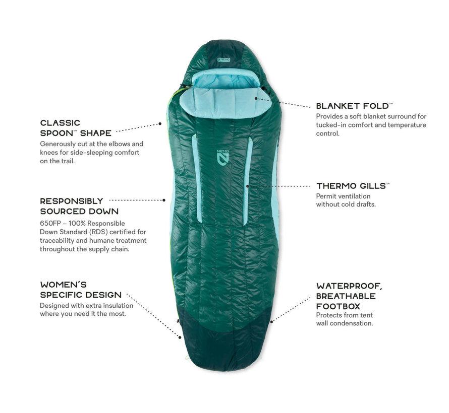 Women's Disco™ Down Sleeping Bag 30 deg