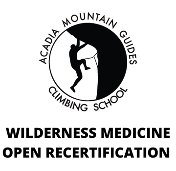 Acadia Mountain Guides Course - Wilderness Medicine Open Recertification