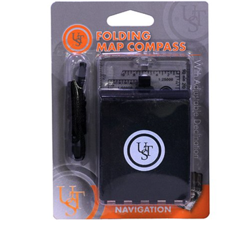 ULTIMATE SURVIVAL Folding Map Compass