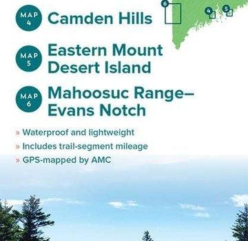 Appalachian Mountain Club AMC Maine Mountains Trail Maps 3-6