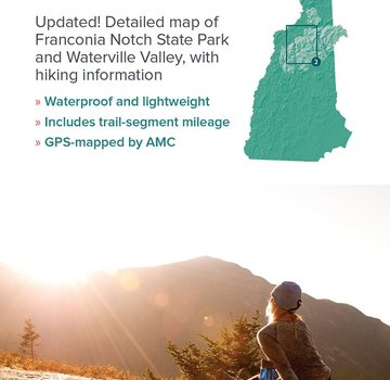 Appalachian Mountain Club AMC White Mountains Trail Map 2: Franconia–Pemigewasset