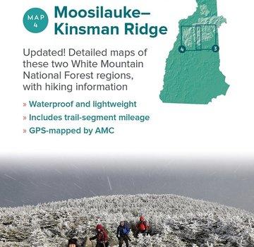 Appalachian Mountain Club AMC White Mountains Trail Maps 3-4: Crawford Notch-Sandwich Range and Moosilauke-Kinsman
