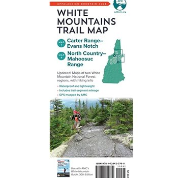 Appalachian Mountain Club AMC White Mountains Trail Maps 5–6: Carter Range–Evans Notch and North Country–Mahoosuc