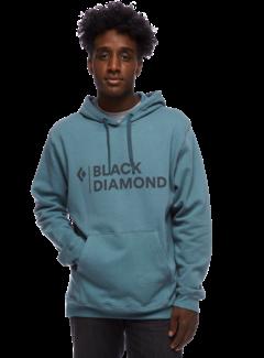 Black Diamond Men's Stacked Logo Hoody