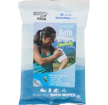 Adventure Medical Kits Adventure Bath Wipes - Travel Size, Pkg./8