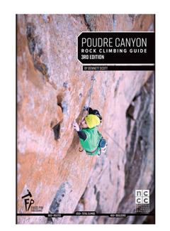 Fixed Pin Publishing Poudre Canyon Rock Climbing Guide, 3rd Edition
