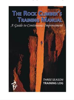 Fixed Pin Publishing Three Season Training Log | The Rock Climbers Training Manual