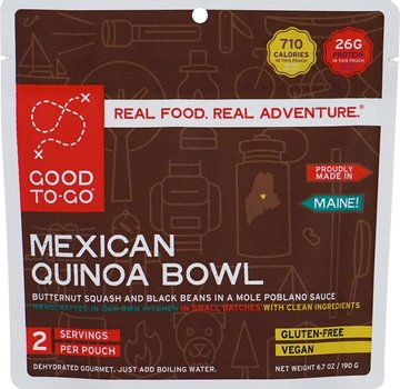Good To-Go Mexican Quinoa Dehydrated Meal