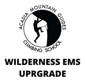 Acadia Mountain Guides Course - Wilderness EMS Upgrade