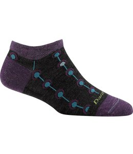 Darn Tough Women's Medallion Light No Show Sock