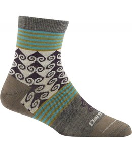 Darn Tough Women's Swirl Print Light Shorty Sock
