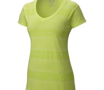 Mountain Hardwear Women's DrySpun Batika V-neck Short Sleeve T