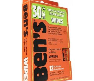 Ben's Ben's 30 Insect and Tick Repellent Wipes
