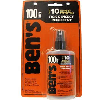 Ben's Ben's 100 Tick and Insect Repellent 3.4oz Pump