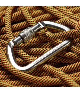 Omega Pacific G-First NFPA Screw-Lok Carabiner- Bright