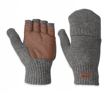 Outdoor Research Men's Lost Coast Fingerless Mitts- L