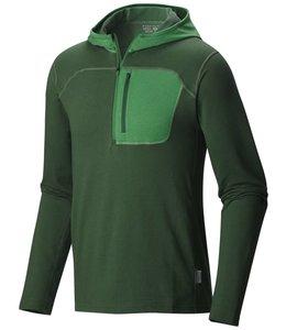 Mountain Hardwear Men's Cragger Pullover Hoody- Forest- XL
