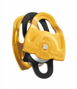 Petzl GEMINI double pulley, lightweight, NFPA, 91% efficiency