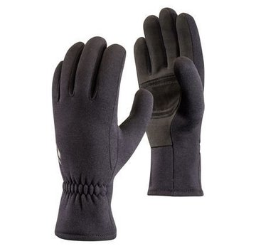 Black Diamond Midweight ScreenTap Fleece Gloves Black
