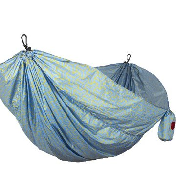 Grand Trunk Double Parachute Printed Nylon Hammock- Serape Print
